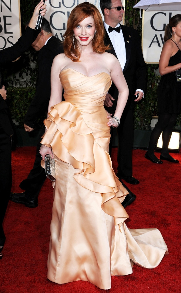 Christina Hendricks, Emmy Awards, 2010, Christian Siriano