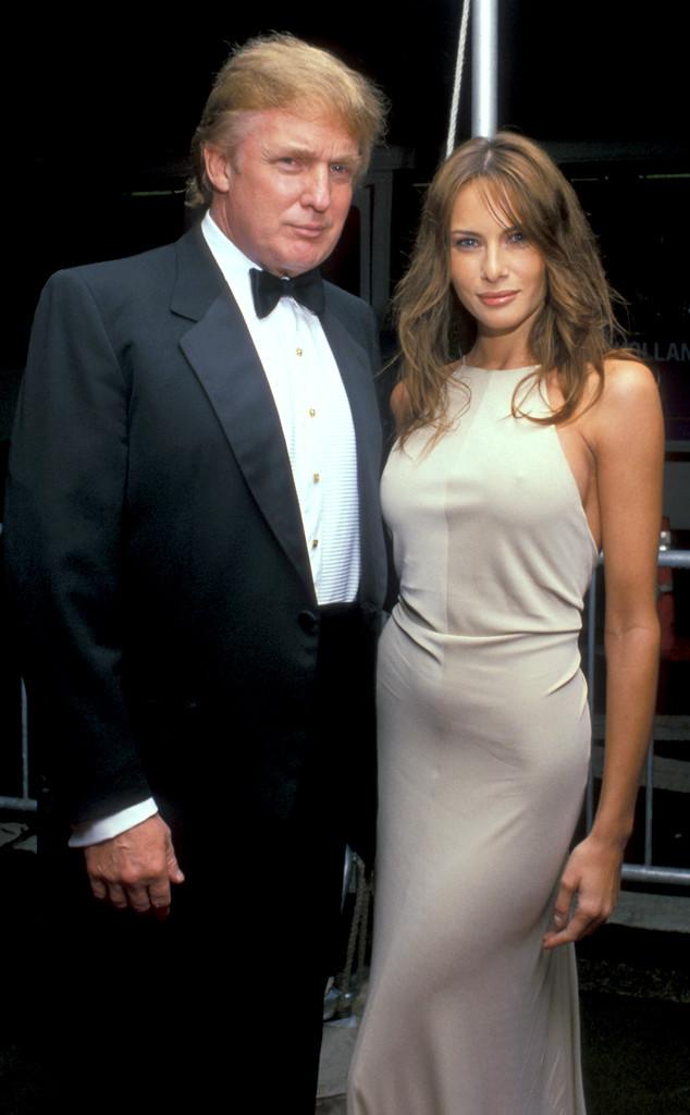 Donald Trump, Melania Trump, 1999