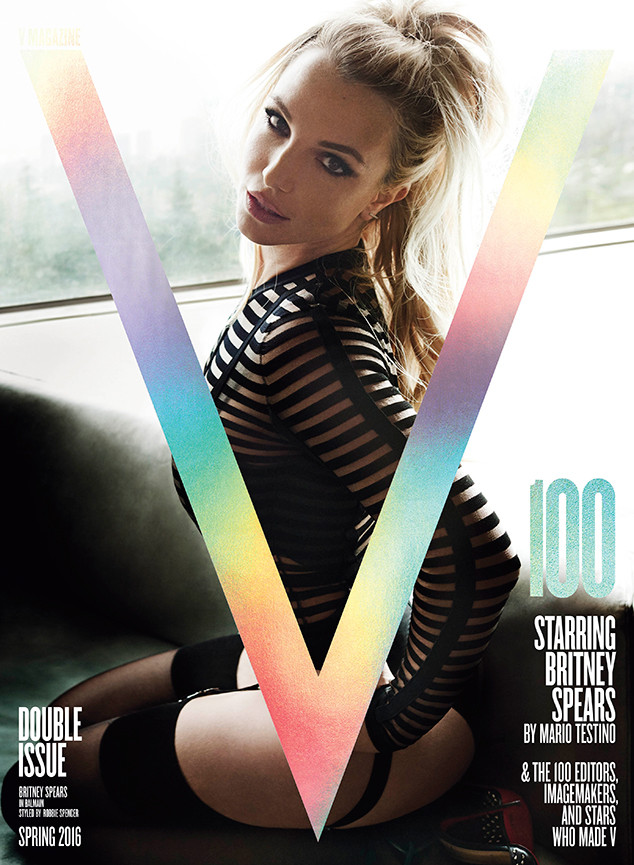 Britney Spears, V Magazine
