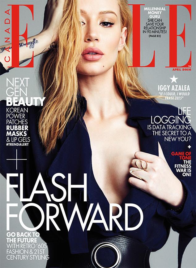 Iggy Azalea, Elle Magazine