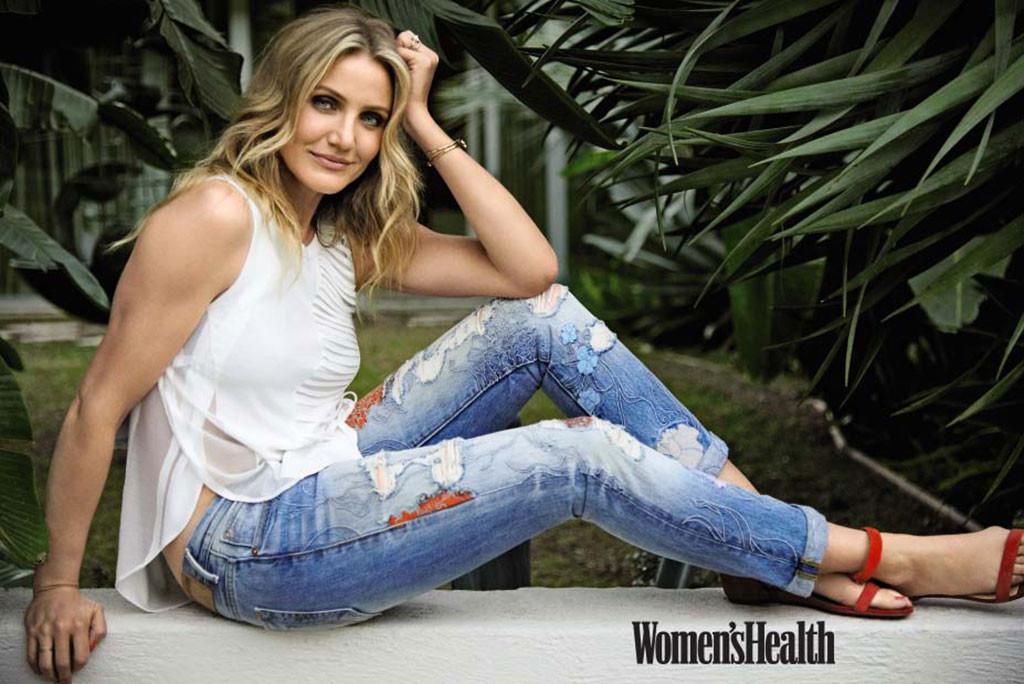Cameron Diaz, Women's Health