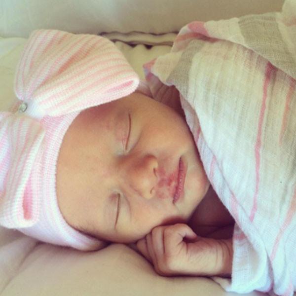 Christine Lakin, Georgia James, Baby, Birth Announcement