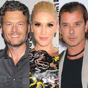 Blake Shelton, Gwen Stefani, Gavin Rossdale
