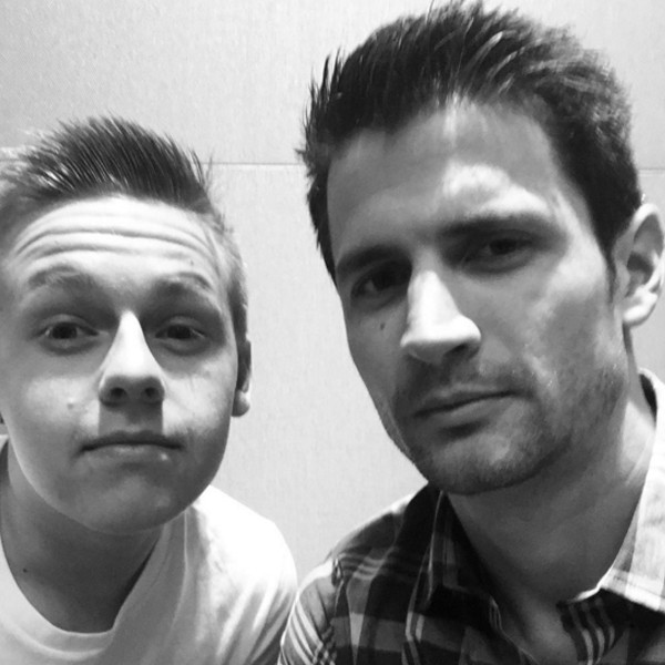 James Lafferty, Instagram