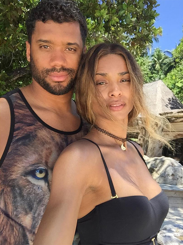 0e49b26235cb Russell Wilson Can t Stop Geeking Out Over Ciara s Killer Legs