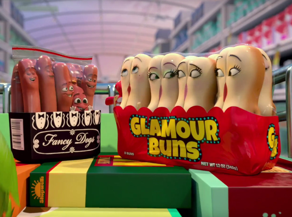 Sausage Party, Movie Trailer, Seth Rogen