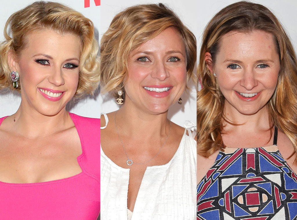 Jodie Sweetin, Christine Lakin, Beverly Mitchell