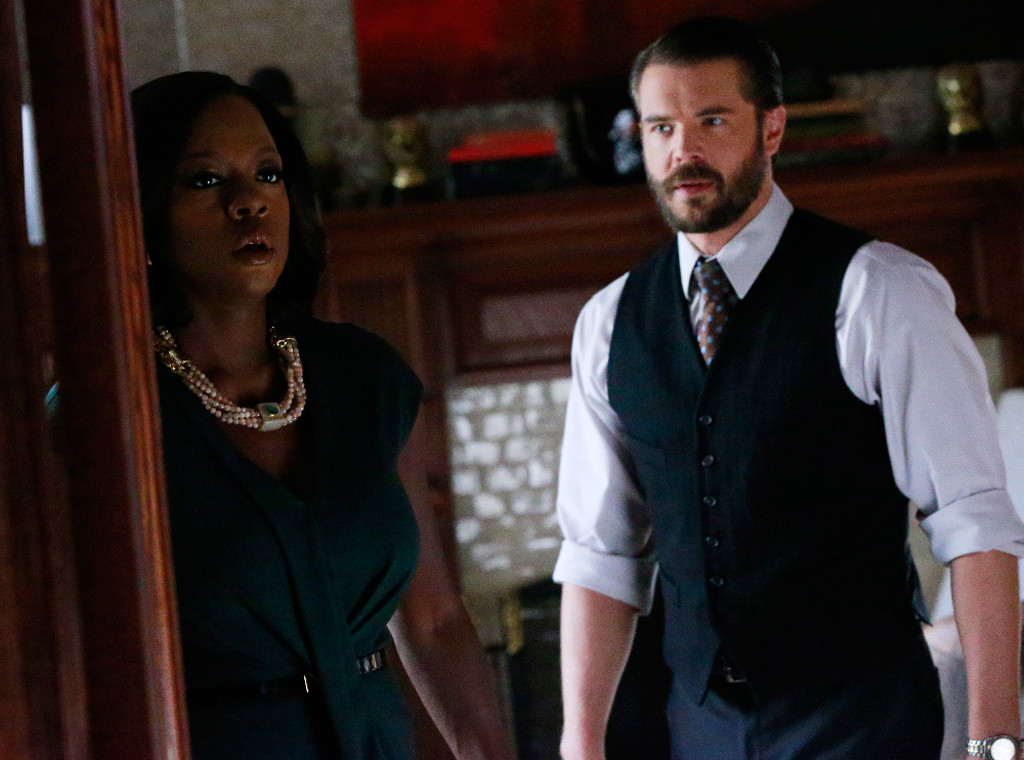 Viola Davis, Charlie Weber, How to Get Away With Murder