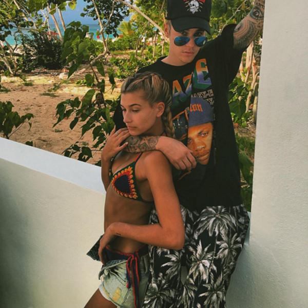 Justin Bieber, Hailey Baldwin, ESC Vacation