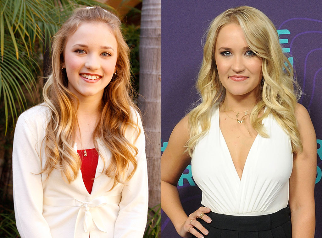 Emily Osment, Hannah Montana, Then and Now