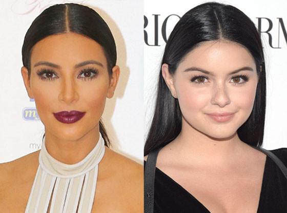 Ariel Winter, Kim Kardashian