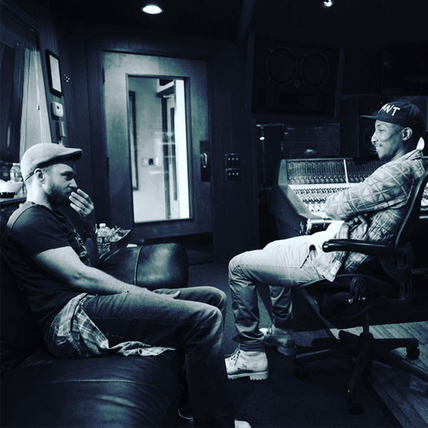 Is Justin Timberlake Making New Music With Pharrell?! Singer