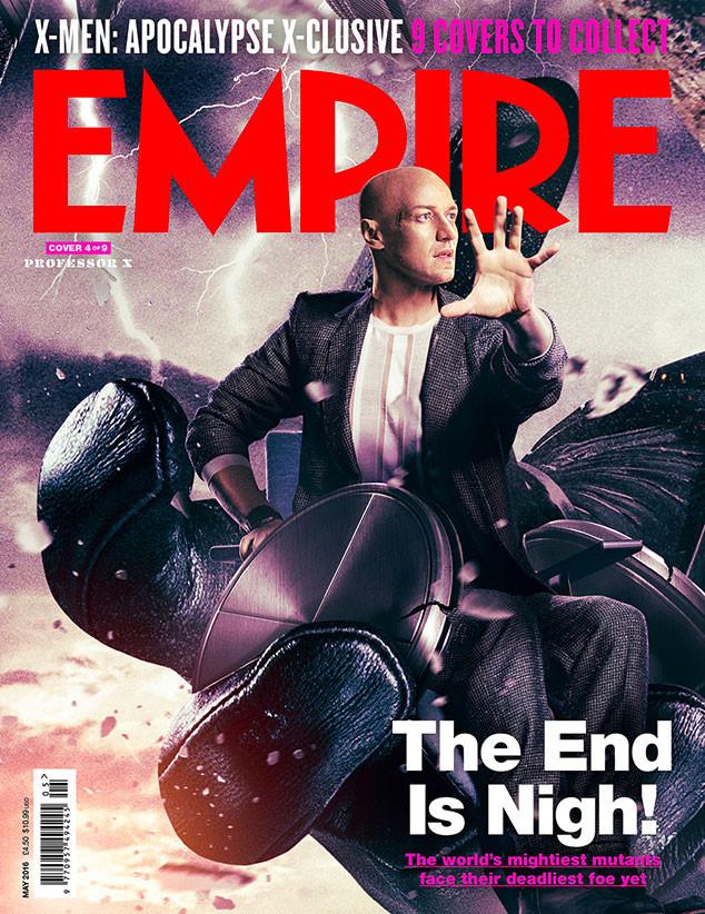 X-Men: Apocalypse, Empire, Cover 4