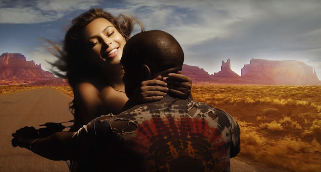 Kim Kardashian, Kanye West, Bound 2 Video
