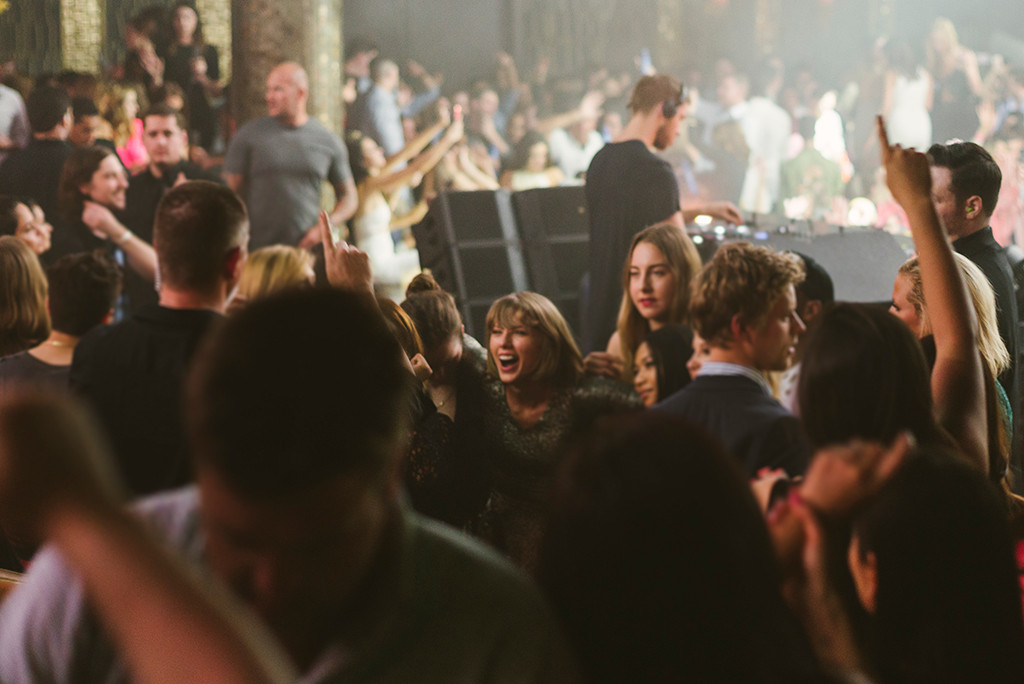 Taylor Swift, Calvin Harris, Las Vegas Nightclub