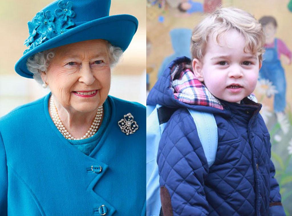 Queen Elizabeth, Prince George