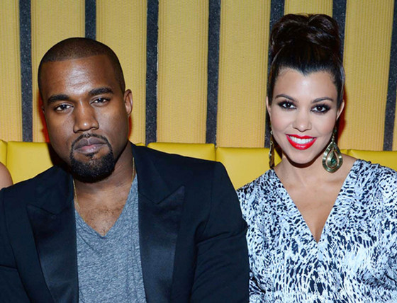 Kanye West, Kourtney Kardashian