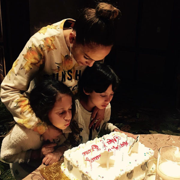 Jennifer Lopez, Max, Emme, Twins