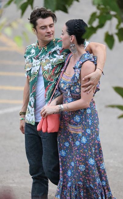 Katy Perry, Orlando Bloom, lieux de vacances préférés des célébrités