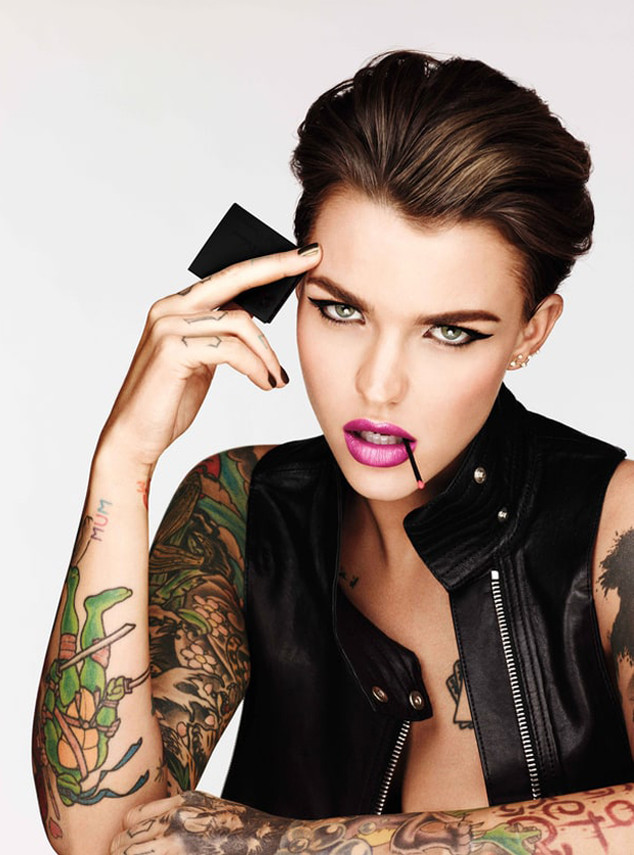 Ruby Rose, Urban Decay Ad