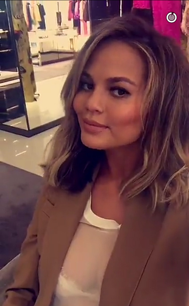 Chrissy Teigen, John Legend, Shopping