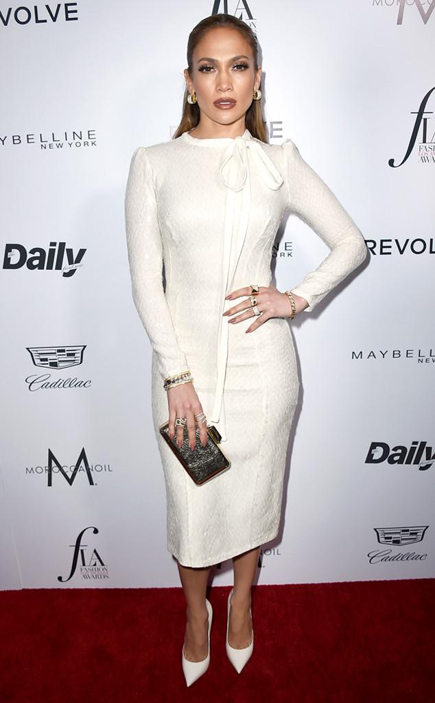 Jennifer Lopez, Daily Front Row's Fashion Los Angeles Awards