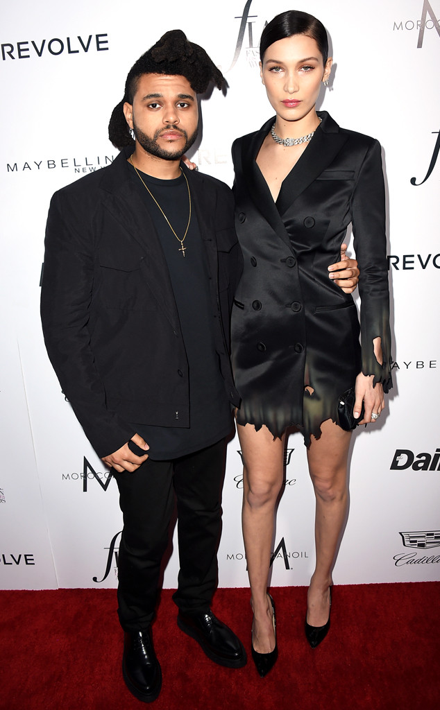 The Weeknd, Bella Hadid, Daily Front Rows Fashion Los Angeles Awards