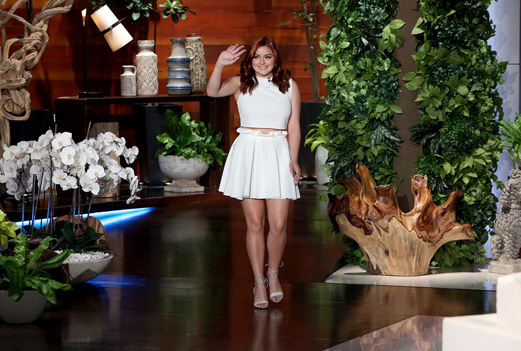 Ariel Winter, The Ellen DeGeneres Show