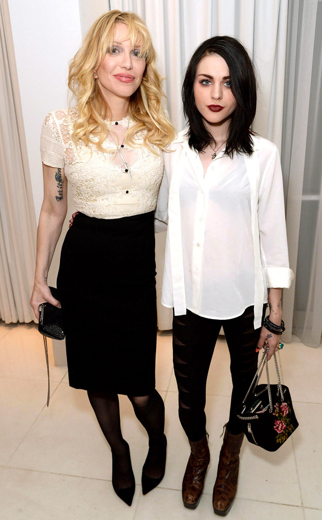 Con este emotivo mensaje la hija de kurt cobain record el courtney love frances bean cobain thecheapjerseys Choice Image