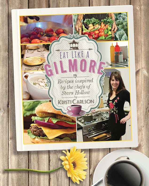 Eat Like a Gilmore, Gilmore Girls inspired cookbook