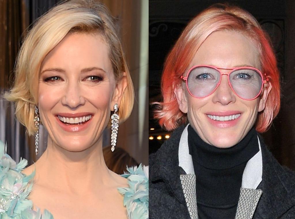 Cate Blanchett, Hair