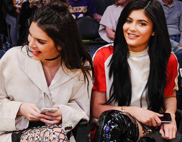 ESC: Courtside Style, Kendall Jenner, Kylie Jenner, Twitter