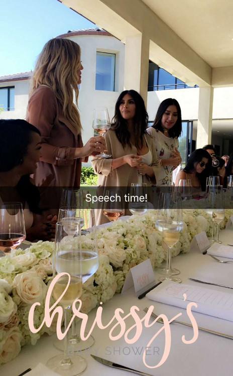 Khloe Kardashian, Kim Kardashian, Chrissy Teigen, Baby Shower 2