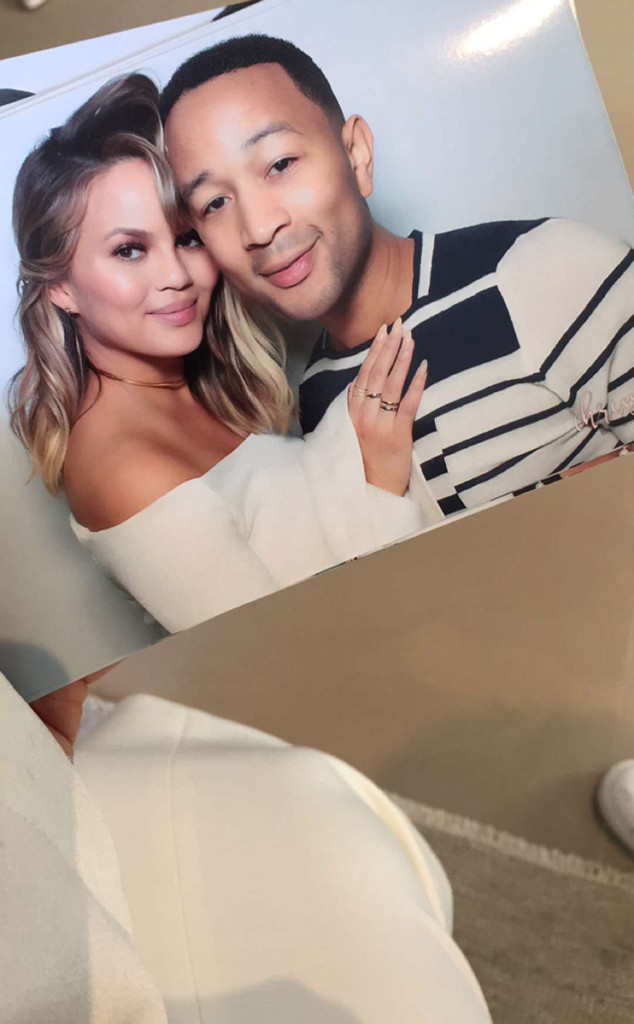 John Legend, Chrissy Teigen, Baby Shower 2