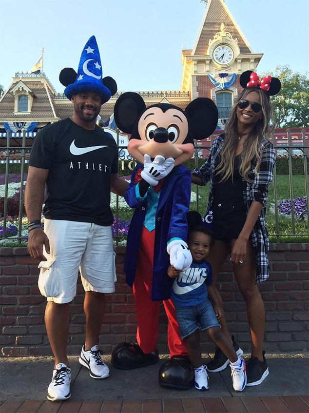 ciara russell wilson her son future have family fun day at