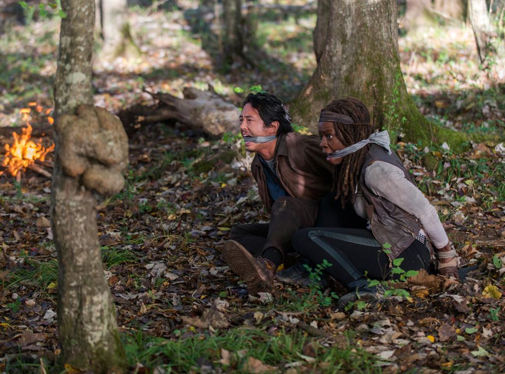 Steven Yeun, Danai Gurira, The Walking Dead