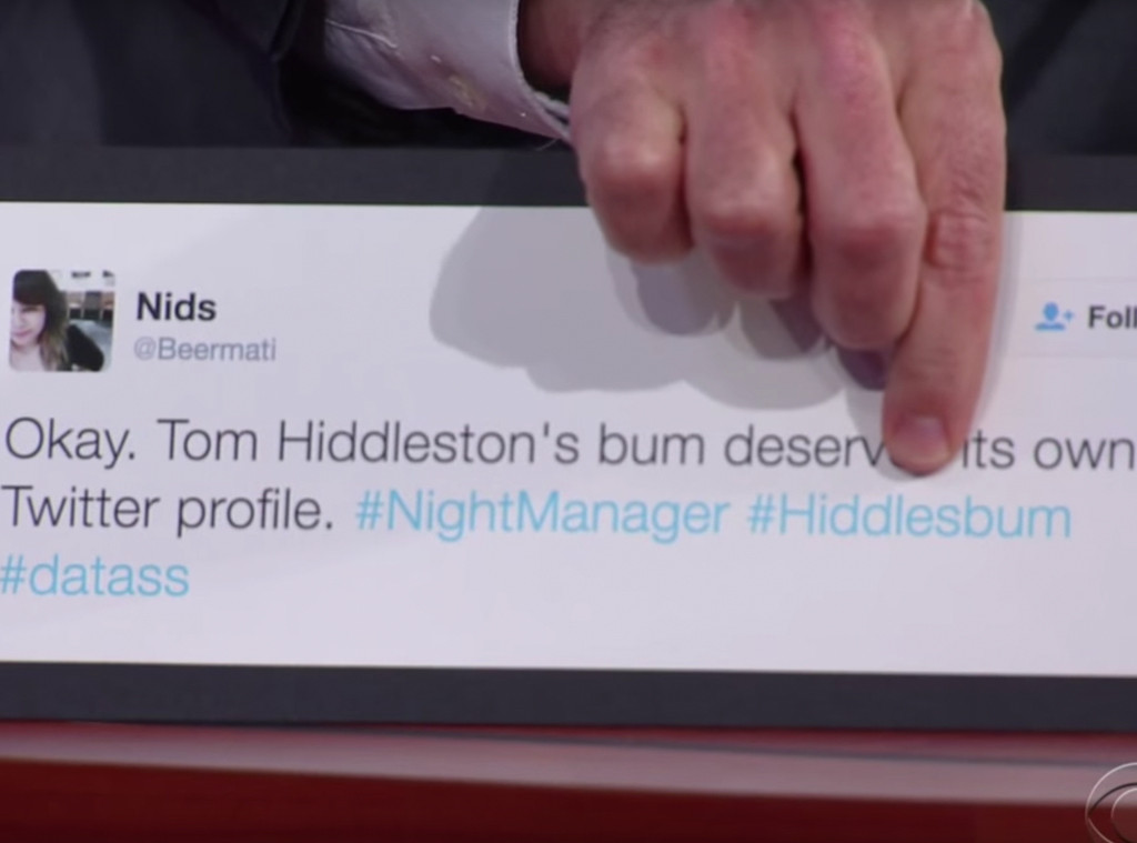 Tom Hiddleston, Twitter Hashtag
