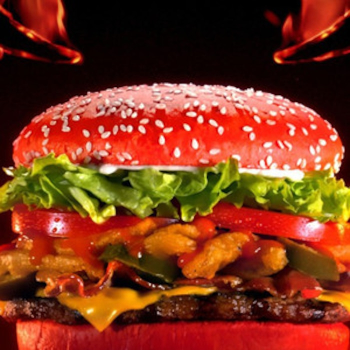 Burger King Is Releasing A Bright Red And Customers Are Worried About Certain Colorful Side Effect