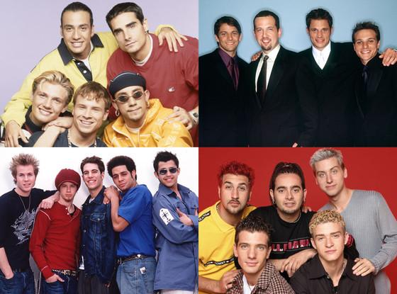 Backstreet Boys, 98 Degrees, O-Town, NSYNC