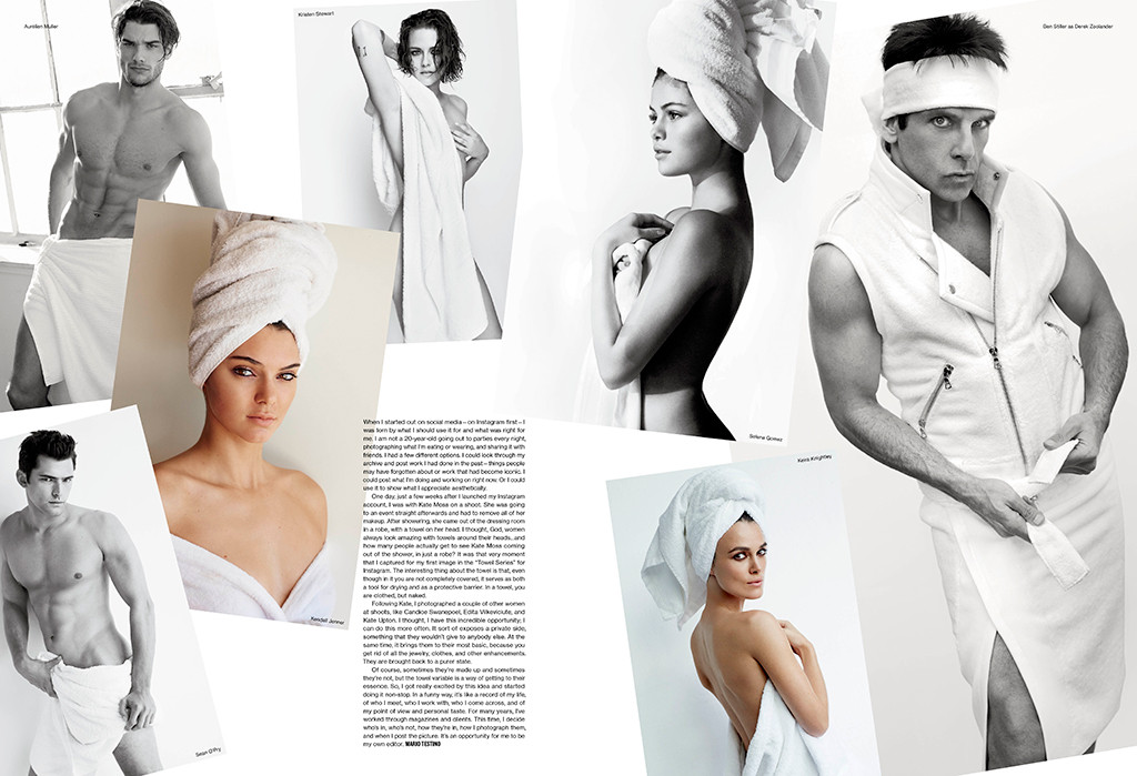 Towel Series, V Magazine