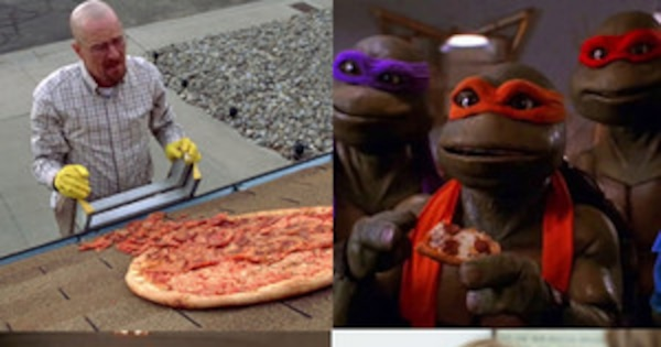 The Best Pizza Moments In Pop Culture E News