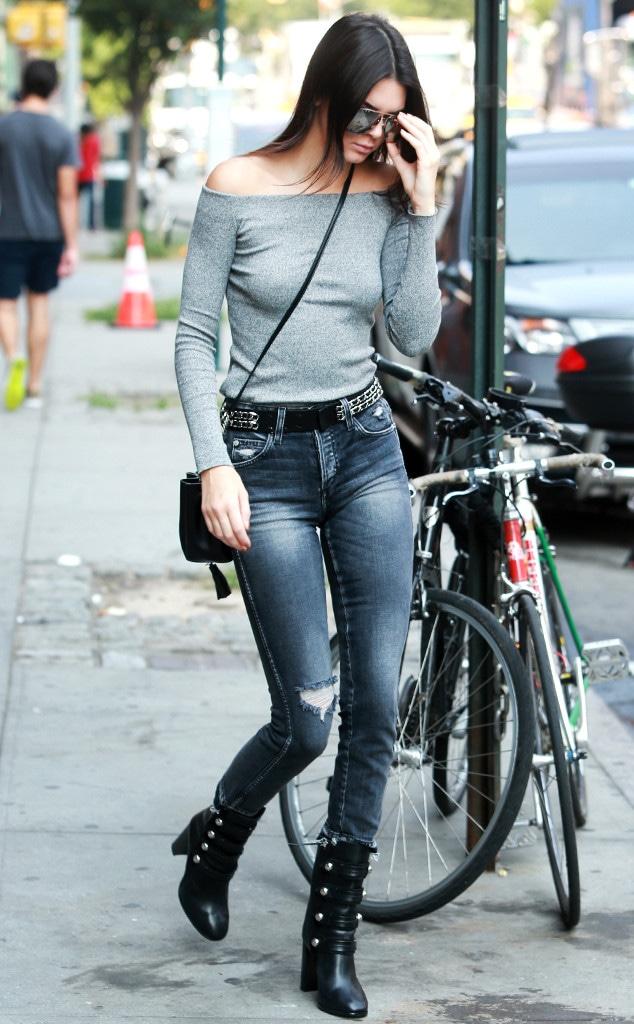 ESC: Kendall Jenner, Off Shoulder Tops