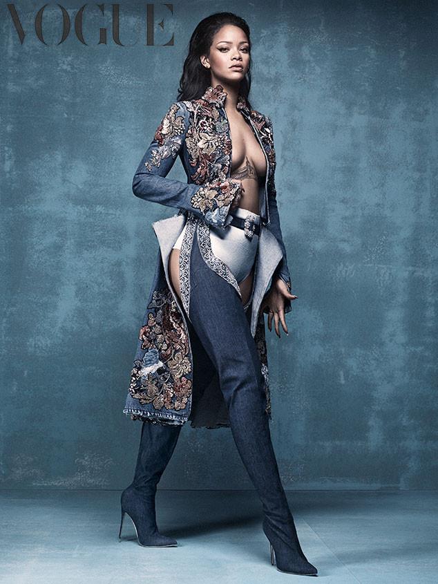 Rihanna, British Vogue