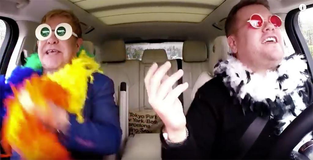 James Corden, Elton John, Carpool Karaoke
