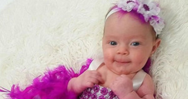 309d56d8f Coco's Baby Girl Chanel Rocking a Feather and Sequin Dress Will Make Your  Heart Explode | E! News