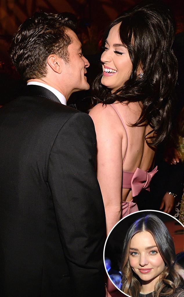 Katy Perry, Orlando Bloom, Miranda Kerr