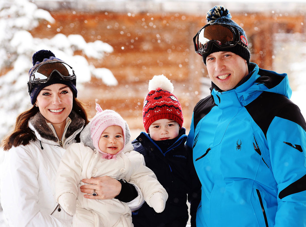 Kate Middleton, Prince William, Prince George, Princess Charlotte