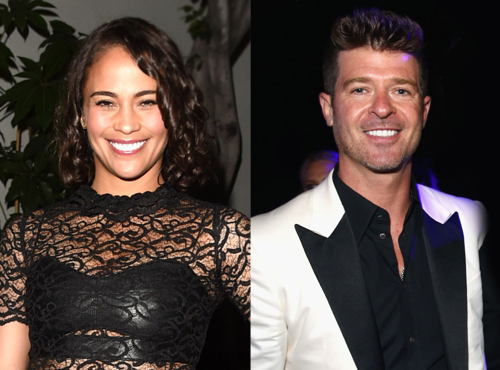 Robin thicke dating who