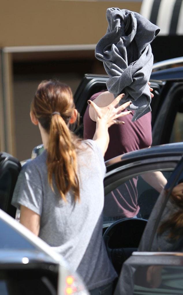 Jennifer Garner, Ben Affleck, Sweatshirt