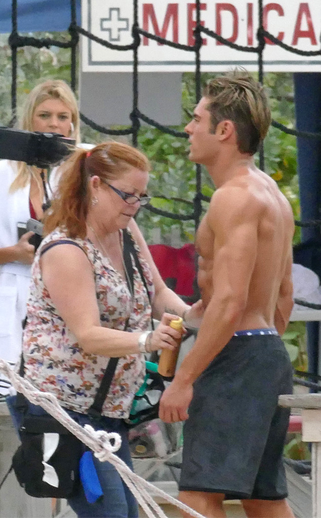 Zac Efron S Makeup Artist Has The Job Of Our Dreams On The Set Of
